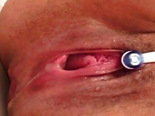 ऊपर बंद करो बहु संभोग और squirting
