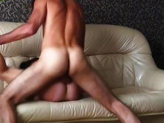 घर का बना भावुक गुदा सेक्स रूसी जोड़ी