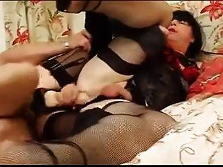 आदमी और औरत एक साथ crossdressers 01 fucks