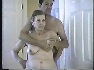 भव्य पुराने दादी हेलेन, पाला हो रही, चूसा और गड़बड़
