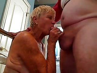 दादी चूसने डिक