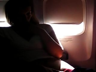विमान पर हस्तमैथुन