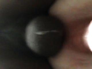 सफेद गधे के अंदर काले डिक सह