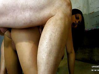 भव्य busty फ्रेंच बेब मुश्किल fucked और facialized