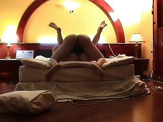 शौकिया कोरियाई जोड़े होटल में कमबख्त