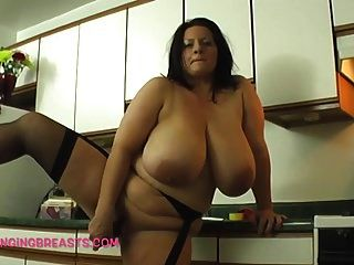 आप के पास एक रसोई में कभी भी सबसे बड़ा स्तन