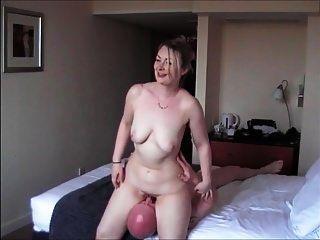 32y ब्रिटिश पूर्व जीएफ होटल रात की पहली बकवास मिलने