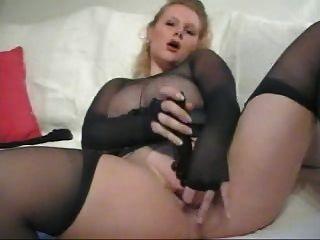 pantyhose परिपक्व BBW नायलॉन encasement हस्तमैथुन