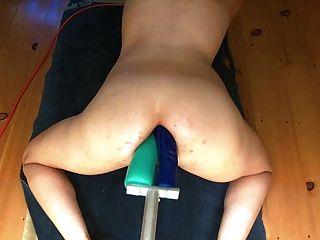 लंबे डबल गुदा dildo मशीन