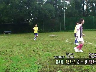 उपशीर्षक एनएफ सीएनएनएफ जापानी न्यडिस्ट फुटबॉल दंड गेम एचडी