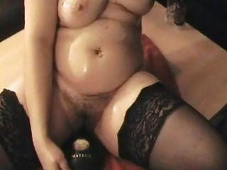 शौकिया पत्नी masturbating जबकि उसके काले दोस्त झटके