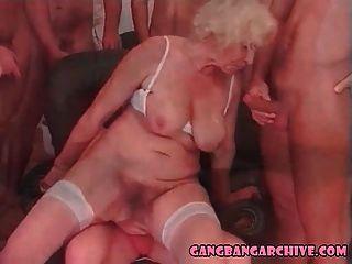 गैंगबैंग संग्रह गोरा दादी नंगा नाच पार्टी