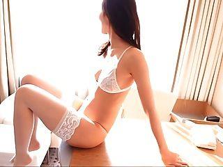 राइस सफेद अधोवस्त्र जांघ उच्च pantyhose (गैर नग्न)