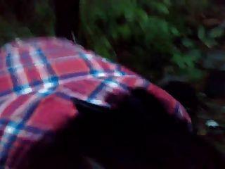 रूसी परिपक्व माँ वन में चूसना