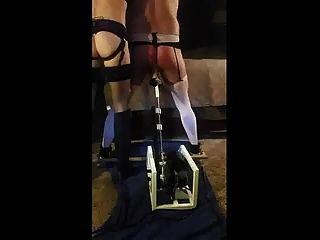 प्रमुख पत्नी बकवास मशीन के साथ पति को सज़ा