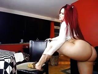 वेबकैम पर curvy slut boootystar # 3
