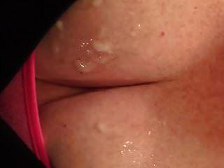 मेरे स्तन पर सहलाया