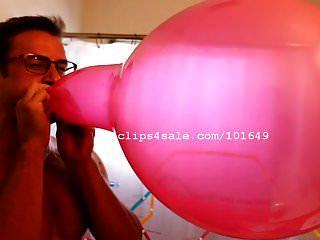 गुब्बारे बुत लांस popping गुब्बारे वीडियो 1