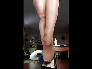 सेक्सी पेंटीहोज teases
