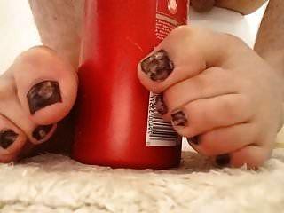 मेरे युवा twink पैर की उंगलियों footjob