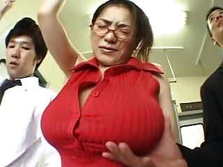 (बड़े स्तन) अन्ना ओहुरा ट्रेन grope.mpg