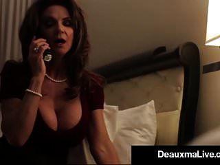 संचिका टेक्सास कौगर deauxma उसे होटल के कमरे सेवा आदमी fucks!