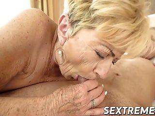 गर्म स्टड लूट सींग दादी नानी पुराने और बालों योनी को नष्ट कर देता है
