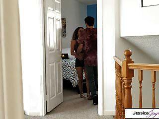 जेसिका jaymes और liv पुर्नोत्थान बकवास एक बड़ा डिक, बड़ी लूट