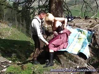 पहाड़ों में जर्मन एमआईएलए गुदा गड़बड़