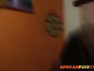 ग्लैमरस अफ्रीकी आकर्षक सवारी कि मुर्गा पेशेवर