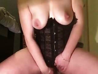 सींग का बना पंजे उसके dildo और हिताची के साथ cums