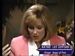 kathie lee एक पोर्नस्टार होने की बात करती है