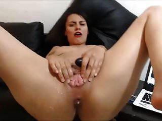 गुदा मैथुन और वेब कैमरा पर आनंद के कई स्क्वर