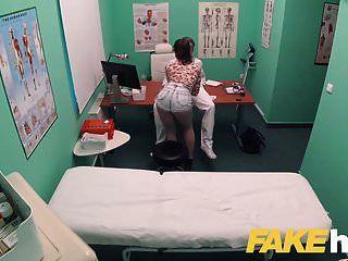नकली अस्पताल गंदा डॉक्स बिग डिक मरीजों को तंग बिल्ली प्यार करता है