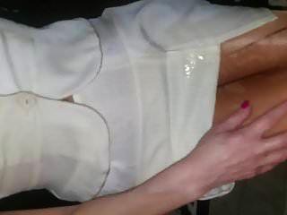 सफेद व्यापार स्कर्ट सूट गीला भाग 3