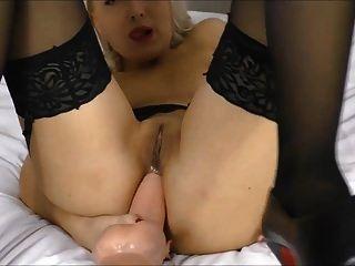 बड़े dildo ऊँची एड़ी के जूते द्वारा गुदा मैथुन (हेलेना moeller)