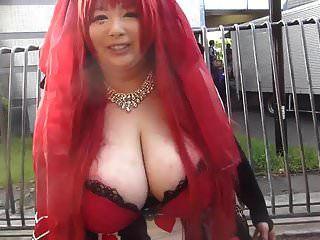 बड़े स्तन के साथ जापानी लड़की (भाग 1)