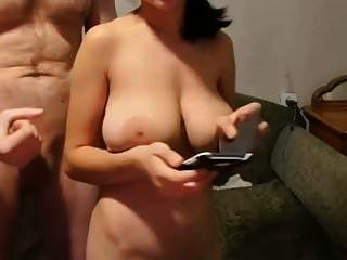 बड़ा मुर्गा बड़े स्तन वेब कैमरा पर