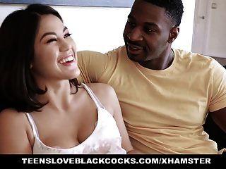 tlbc एशियाई लड़की काला डिक प्यार करता है
