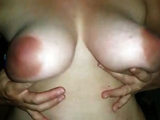 सुंदर सी कप titties