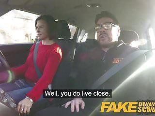 नकली ड्राइविंग स्कूल ईर्ष्या सीखने वाला कठिन कमबख्त चाहता है