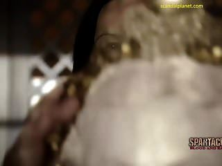 कैटरीना कानून नग्न स्तन और स्पार्टाकस scandalplanet में बुश