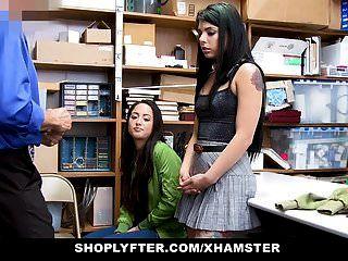 दुकानदार के बाद फूहड़ जुड़वाँ बहनों को बंदी बना लिया और गड़बड़ कर दिया