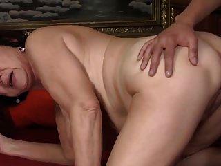 saggy स्तन पुराने दादी और आदमी