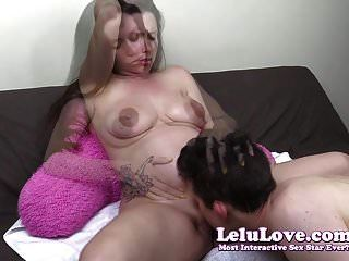 lelu प्यार गर्भवती बिल्ली खा रहा है तो pov creampie