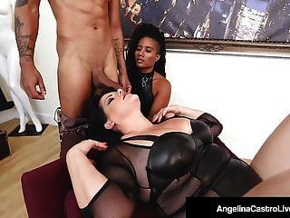 एंजेलिना कास्त्रो ने जेट सेटिंग चमेली से सेक्स थेरेपी ली