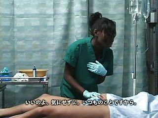 एशियाई जापानी लड़का अस्पताल में काले आबनूस लड़की fucks