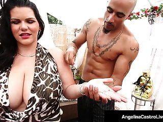 क्यूबाई डिक्टास्टर एंजेलीना कैस्ट्रो नीचे उसकी बिल्ली को टुकड़े हो जाते हैं
