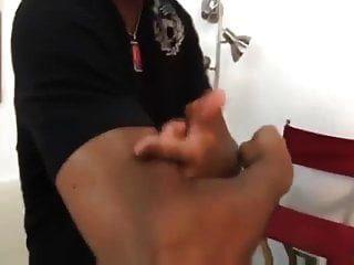 पर्दे के पीछे डिक्सी डेटोना (शूट के बाद)