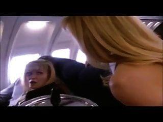 एक हवाई जहाज पर विंटेज अदरक लिन सेक्स